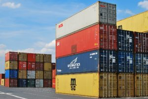 Hyra 40-fots container