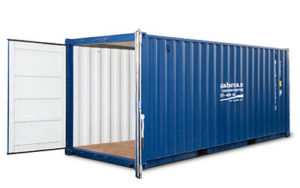 Container blå