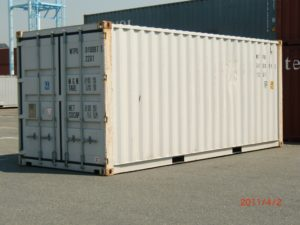Hyra 20-fots container